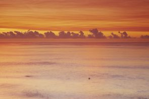 Lone Surfer at Dawn Aquabumps img_9352