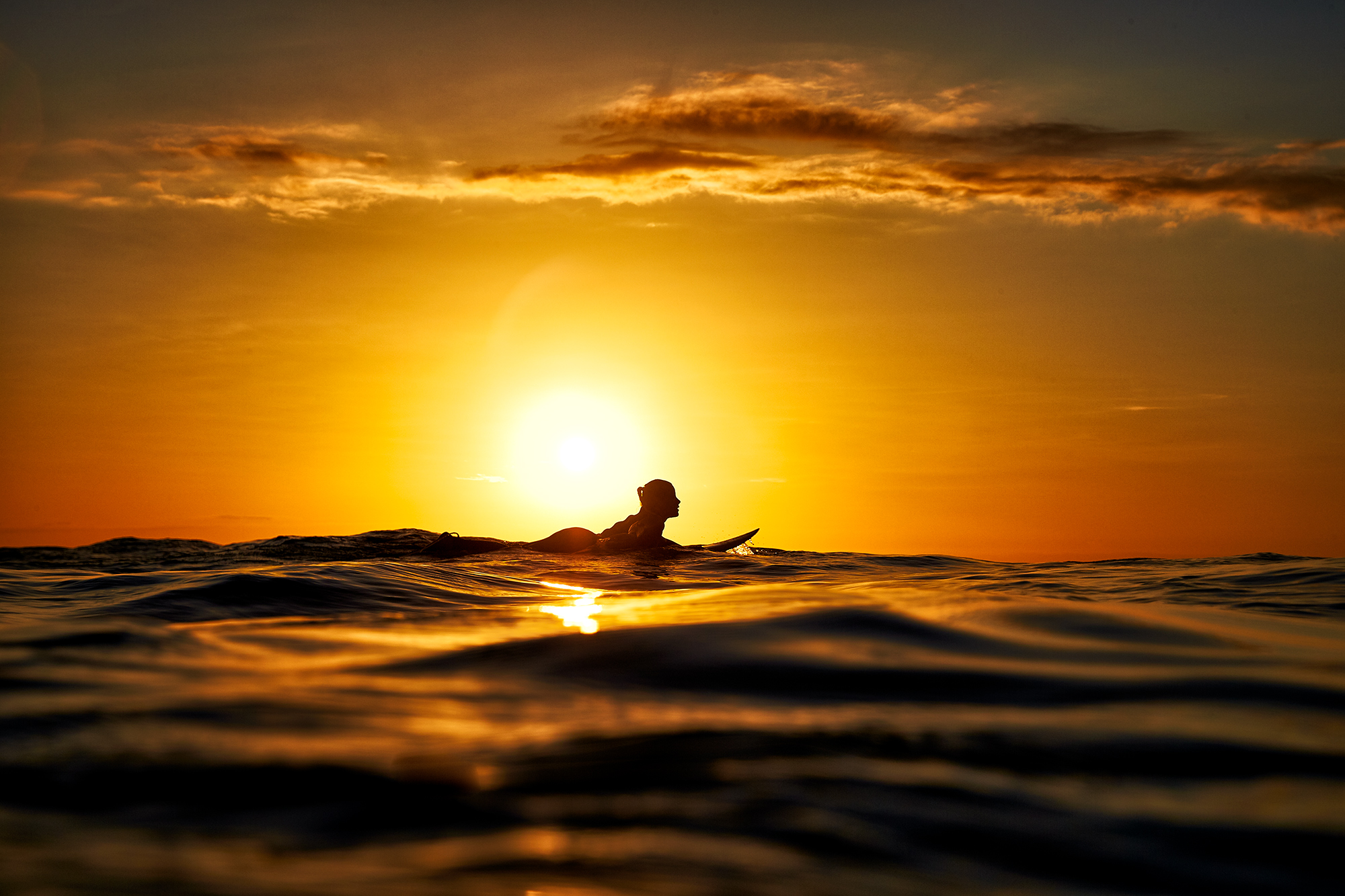 Orange Paddler Aquabumps 01q8286