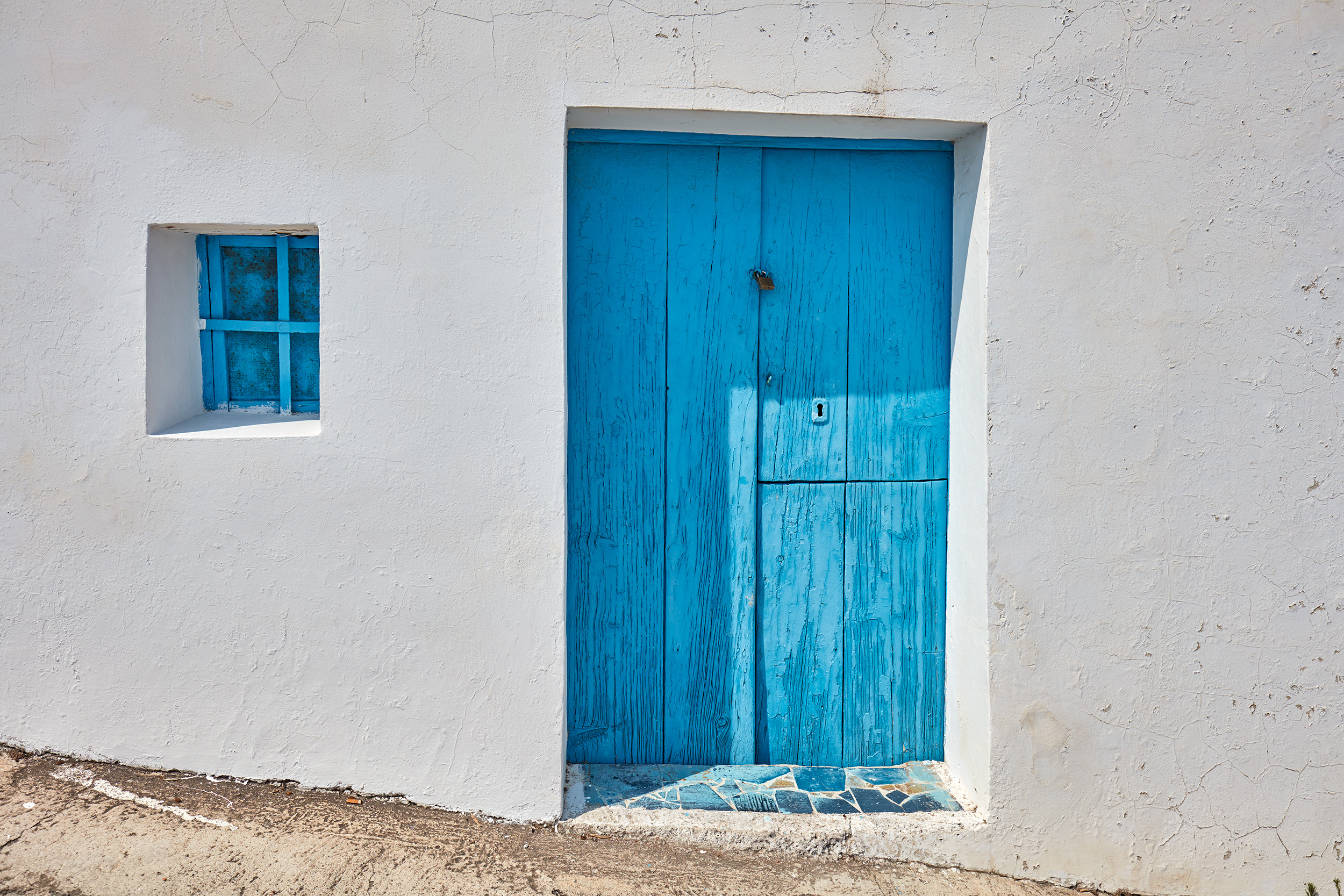 Panarea Door Aeolian Islands