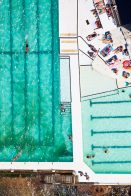 Bondi Icebergs, straight down