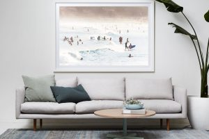 Frame Shadow Box | White 167cm x 118cm | $2,950