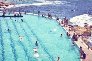 Bronte Pool leisure time