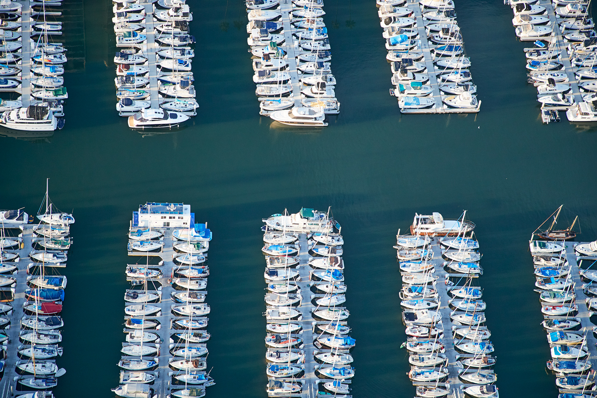 Marina Del Rey is the biggest inland marina in the world