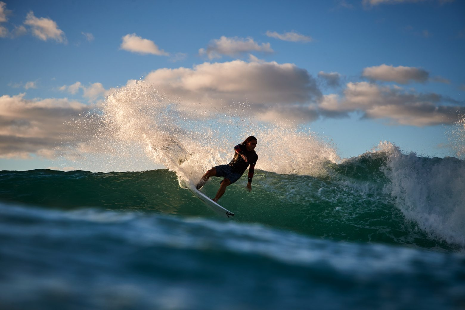 Pama Davies, shred, Bondi
