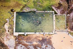 Mona Vale Pool at low tide