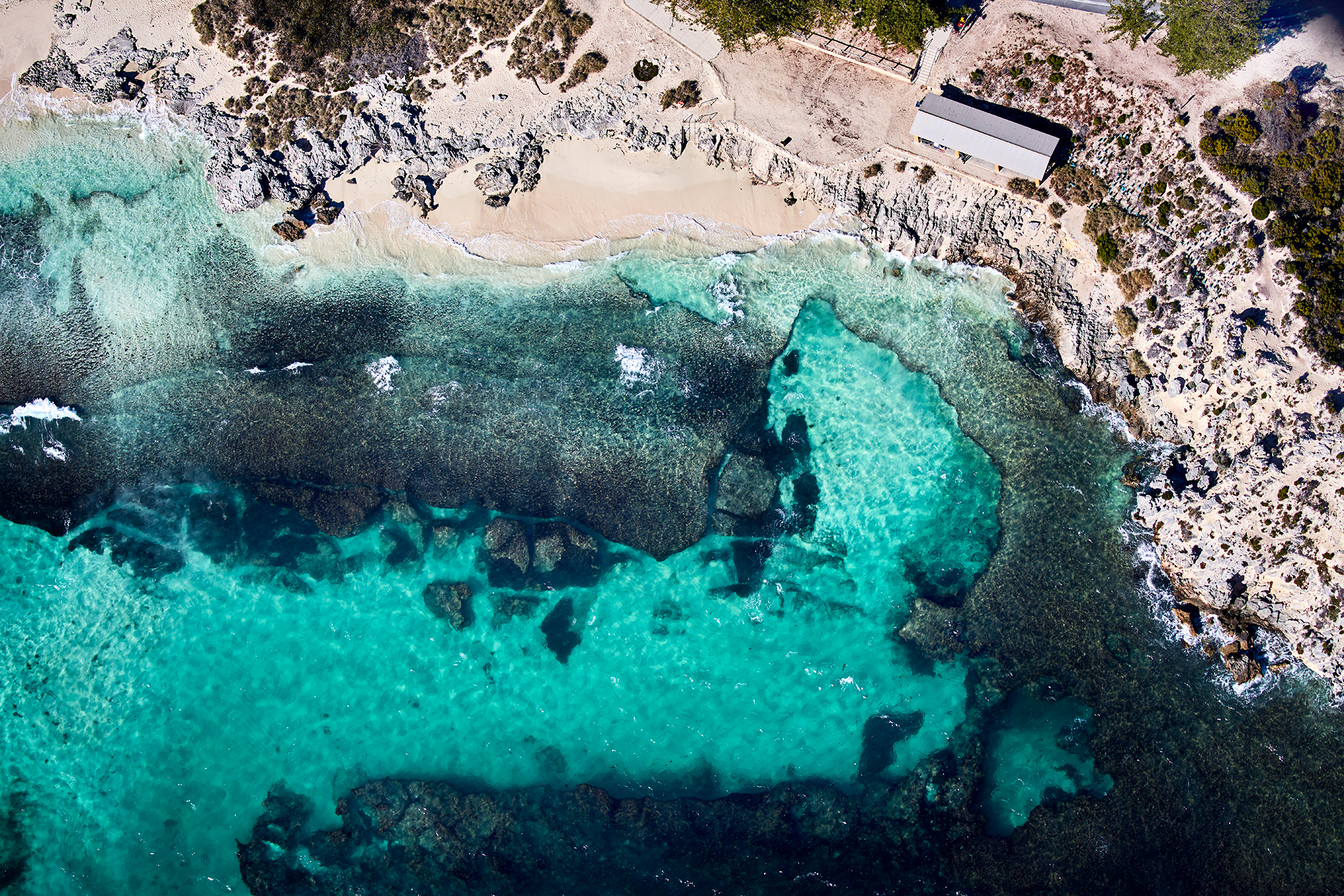 The Basin, Rottnest Island, where I learnt to swim