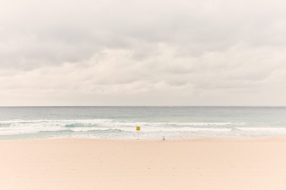 Bondi Beach 7am this morning not looking great!