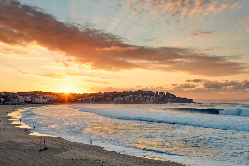 Bondi beach, 7am today, 1st light and 1st wave I saw