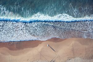 Main Beach, Wollongong - still no one around