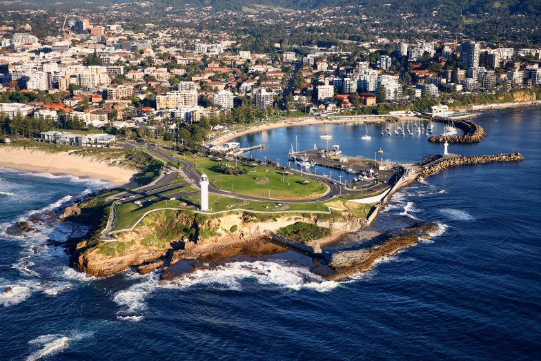 Wollongong, a beachside city of 300,000 residents