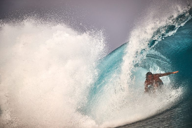 Some of the best waves I saw all year, June 19, Mentawais.