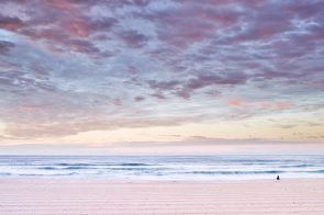 Meditative hues, Bondi Beach