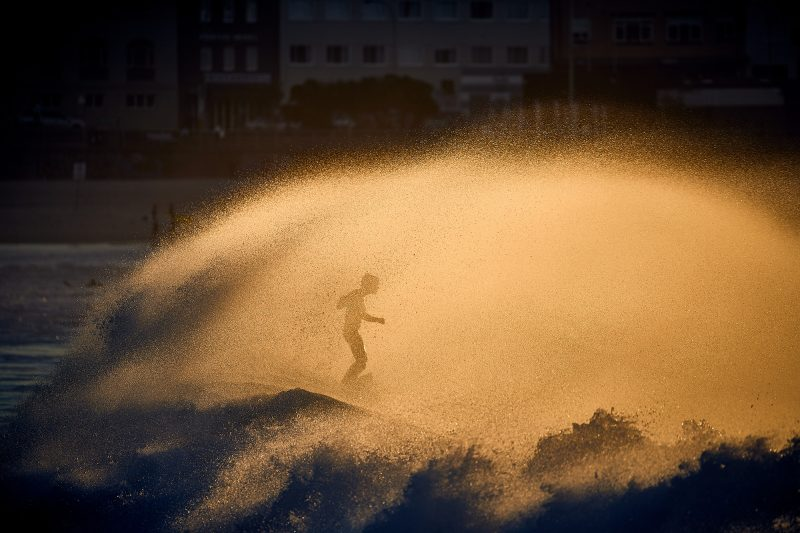 Plume dance, Bondi Beach 7:20am