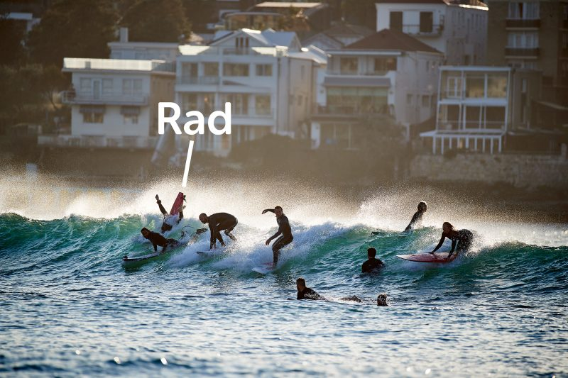 Sums up Bondi surfing.