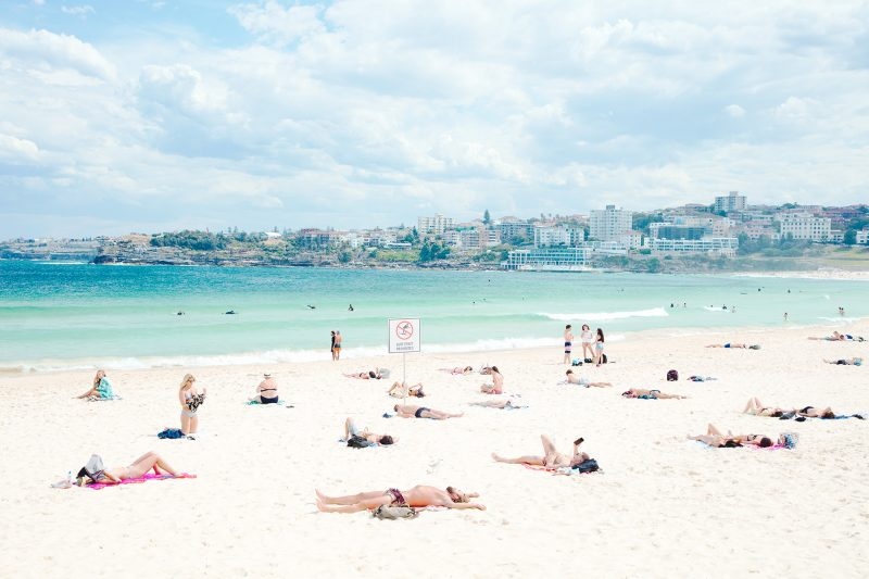 Ah yesterday, wasn't that a treat. Bondi Beach around 2pm