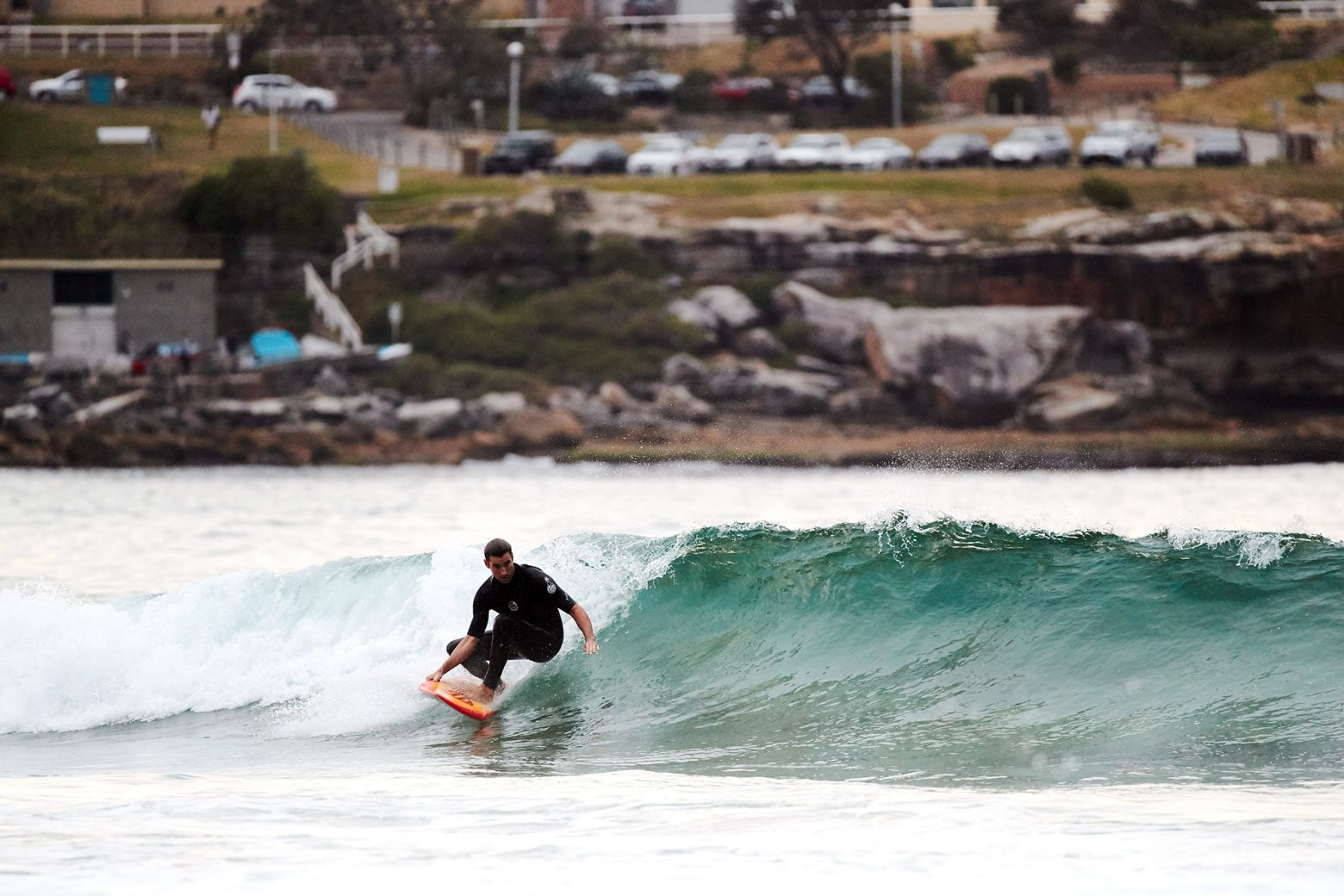 Chris Little training for a wild card at Pipe