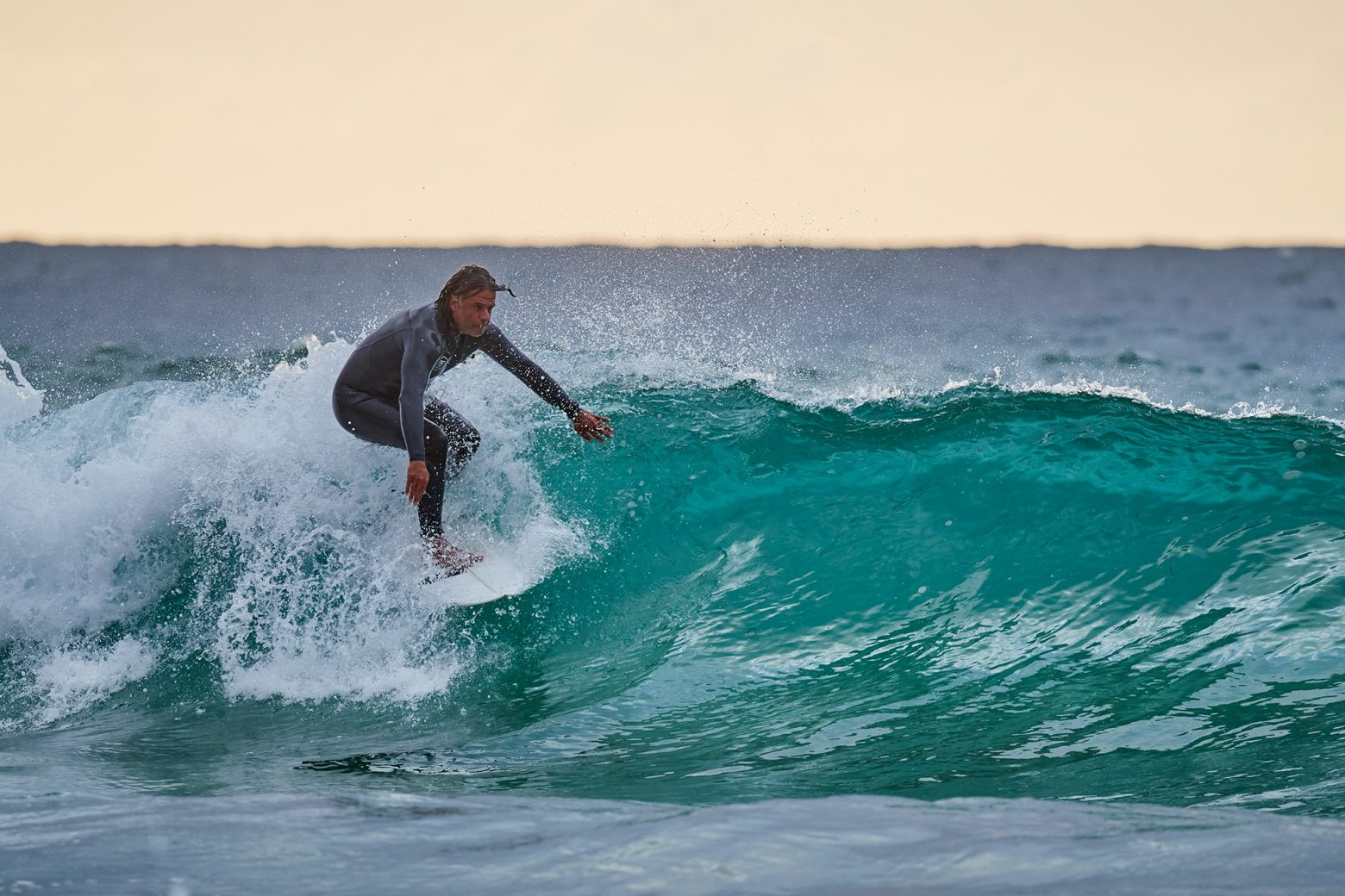 Christian, lone wolf hunting on the shorey lefts at South Bondi