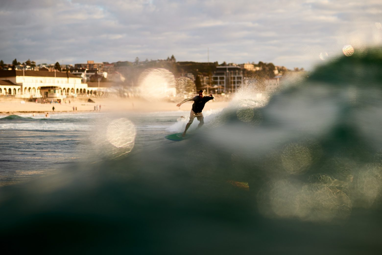 Morning weed slider, Bondi