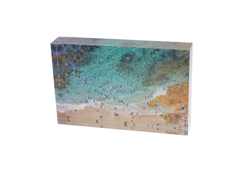 Bogey Hole Aquabumps Mini Acrylic Block