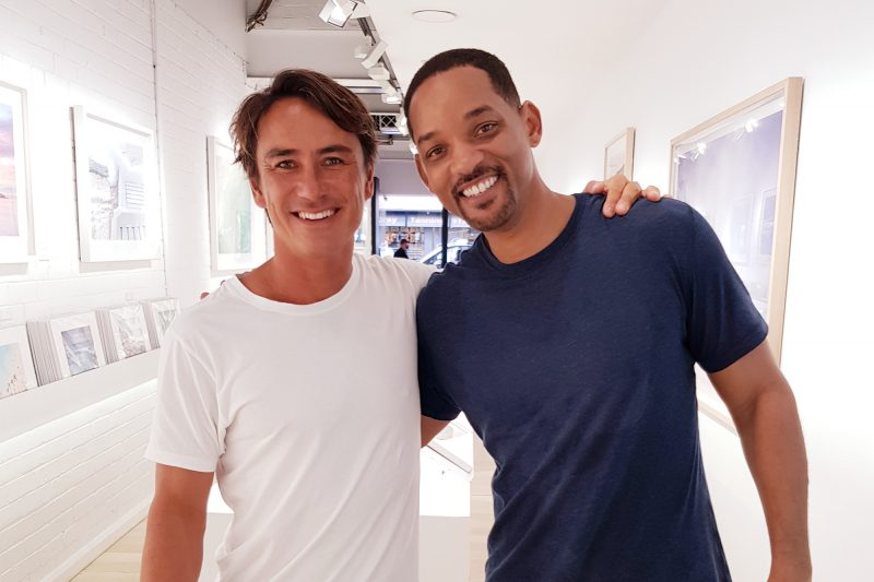 Will Smith popped into the gallery this weekend