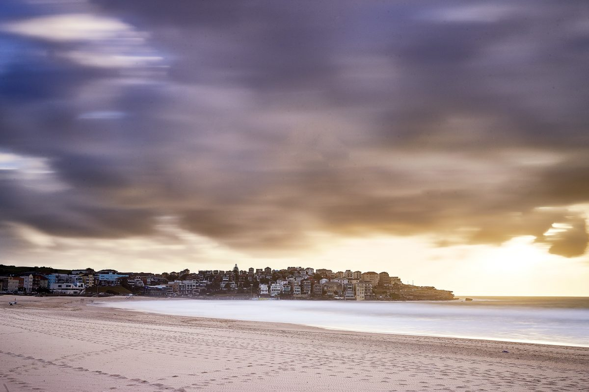Moody Bondi, 6:30am today
