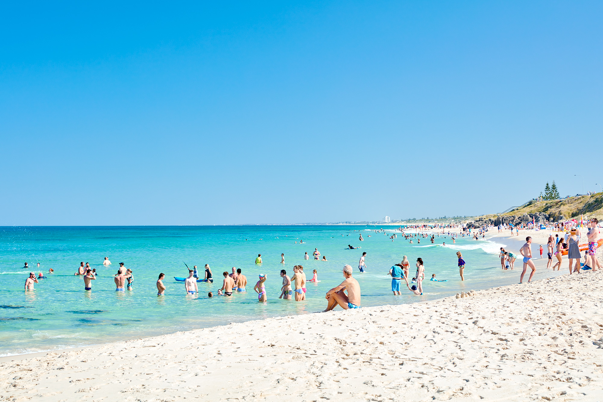 North Cott, never is this busy and look at the water