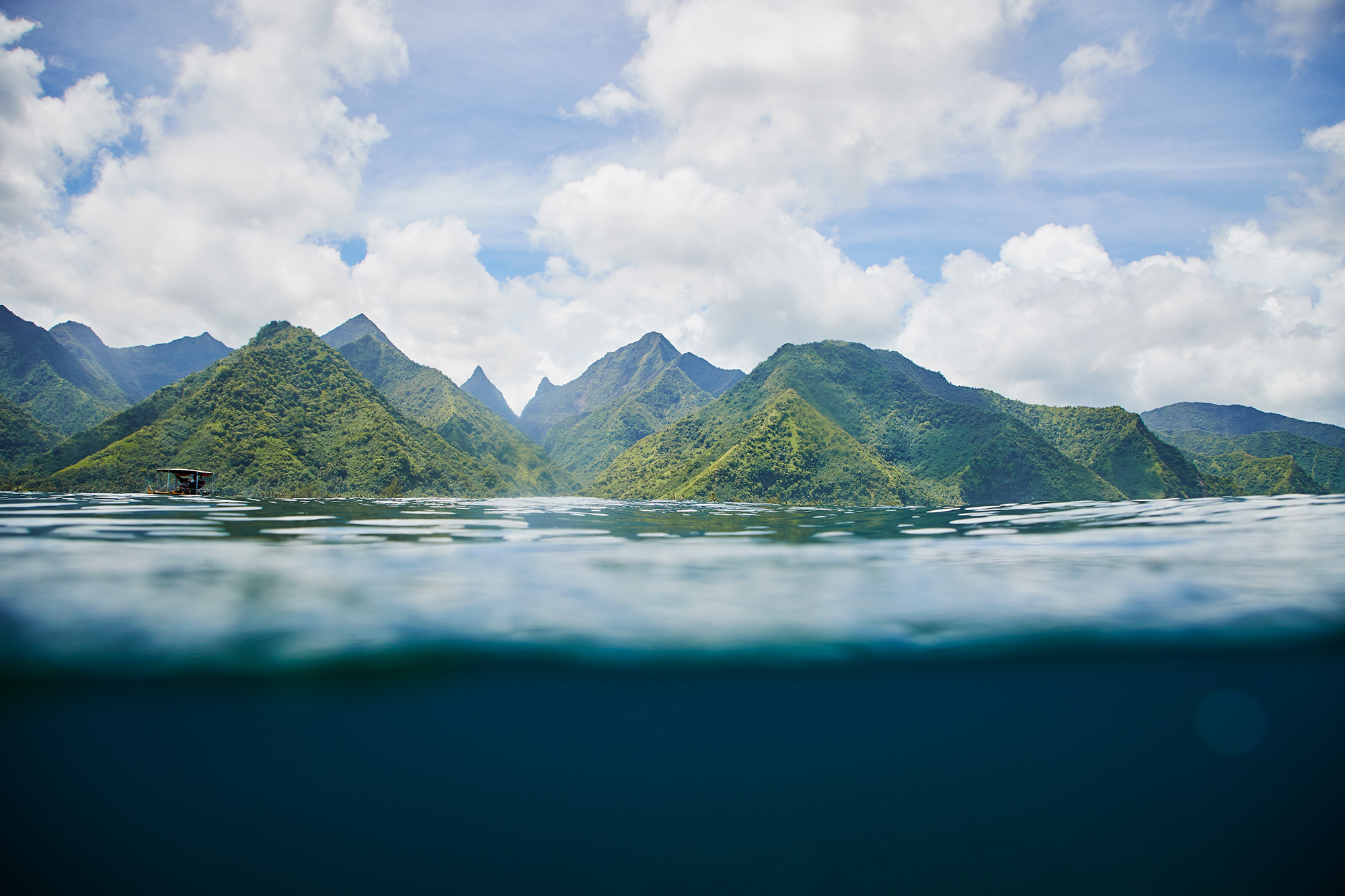 Teahupoo, the end of the road.