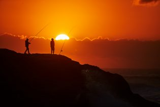 Best fishing at dawn