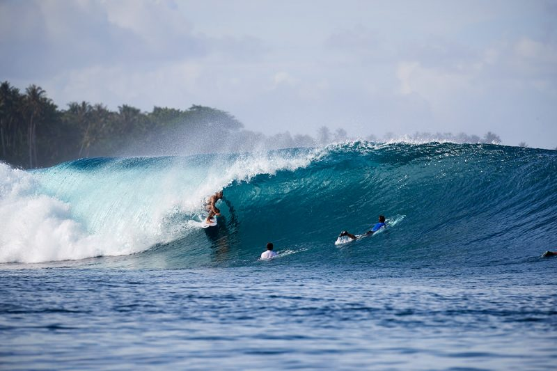 Karl Page, under cover and under pressure, Mentawais