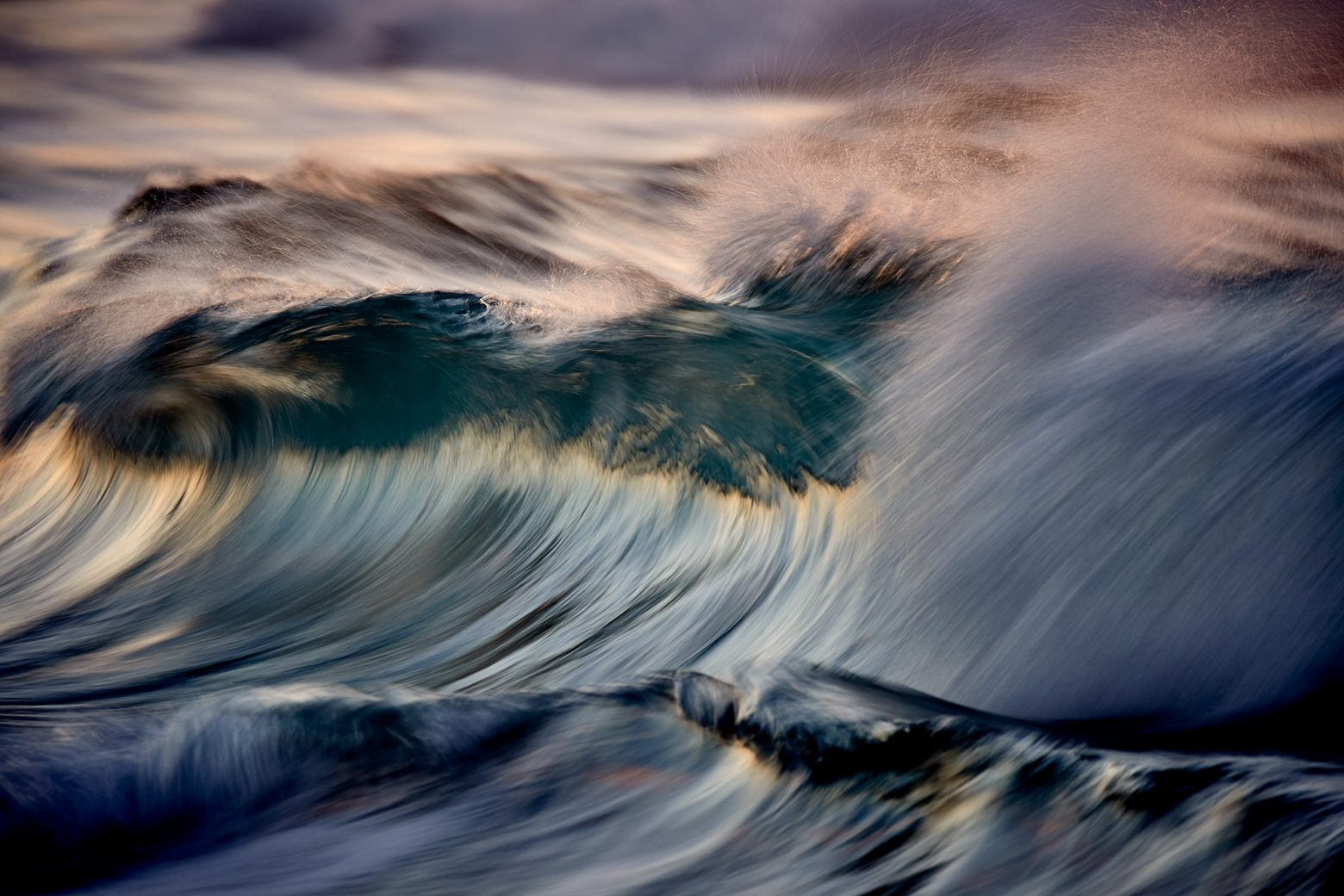 A wave with many faces