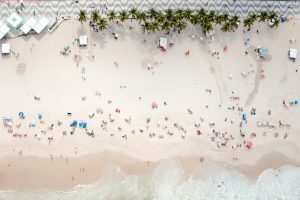 Brazilian beaches, a hive of activity