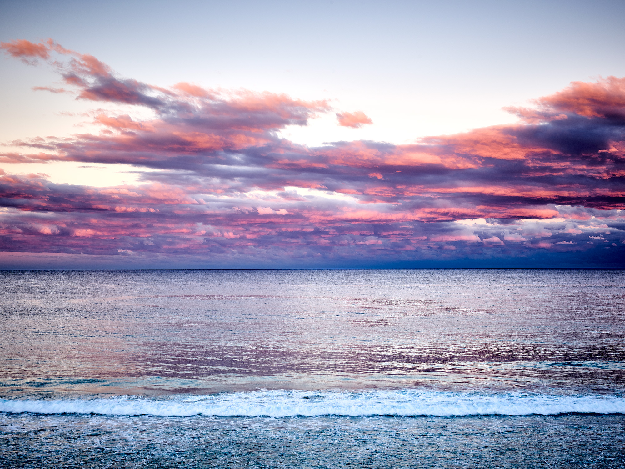 Sunset tones, The Great Lakes NSW