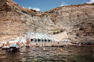 The thermal spas in Ischia