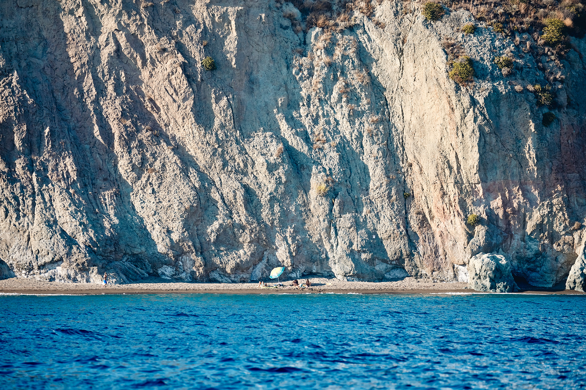 Getting away from the beach clubs, Ischia
