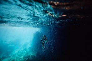The swimming in caves is incredible.