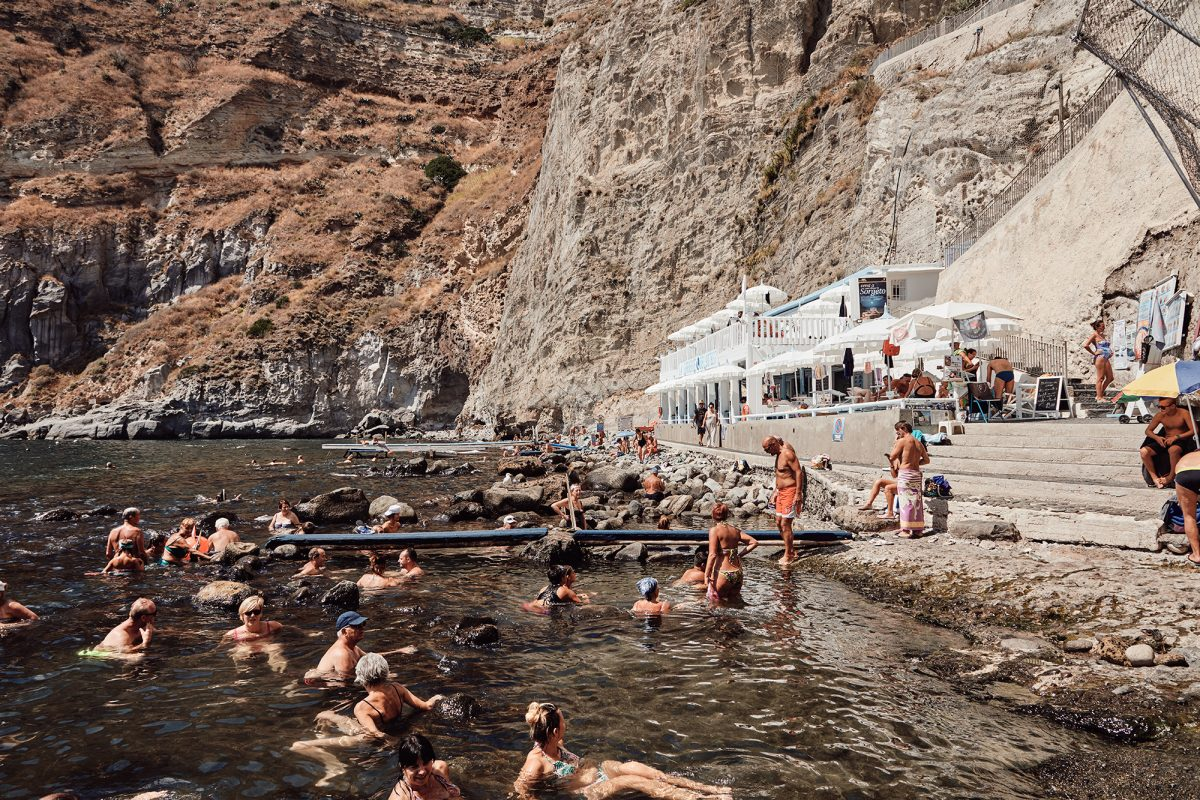 Volcanic thermal springs of Ischia