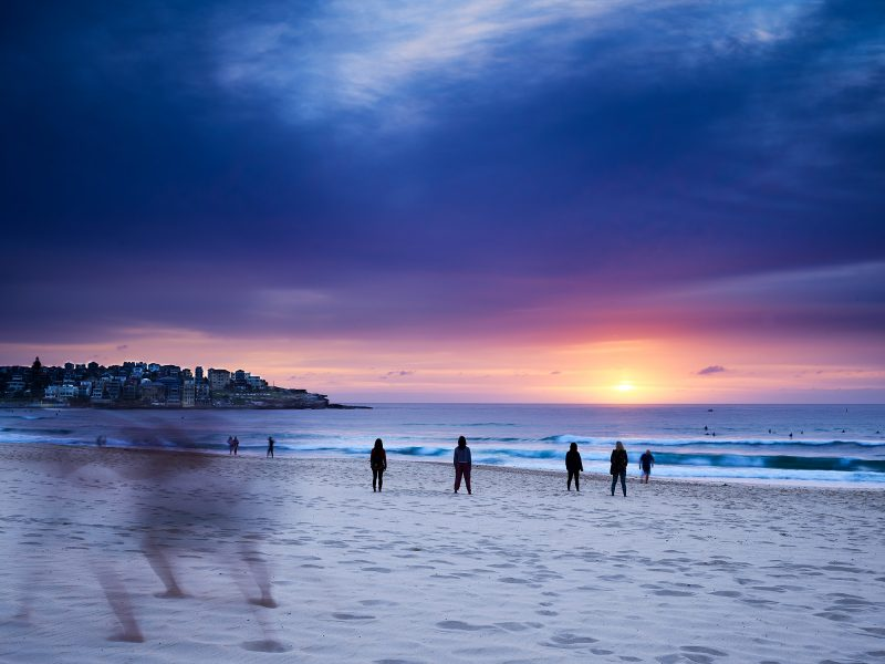 Bondi Beach, 5:40am this morning