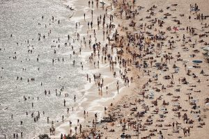 Heatwaves at Bondi