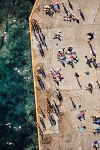 Today's random aerial image, Clovelly