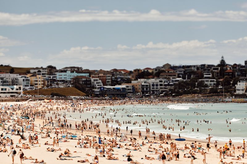 Bondi - very busy yesterday