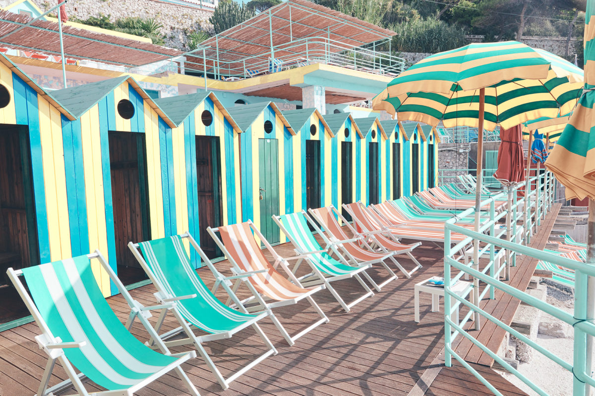 Where sun worshiping happens in Italy