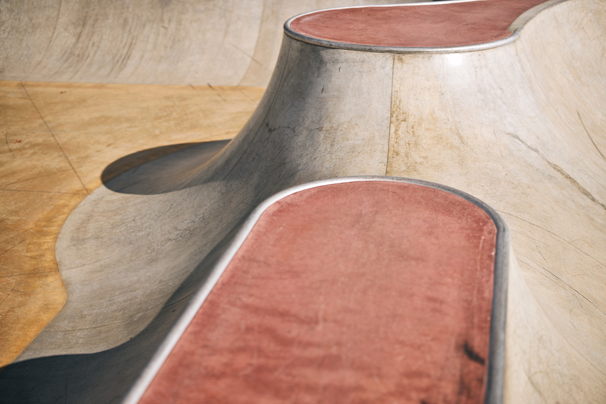 Curves of Margies skatepark