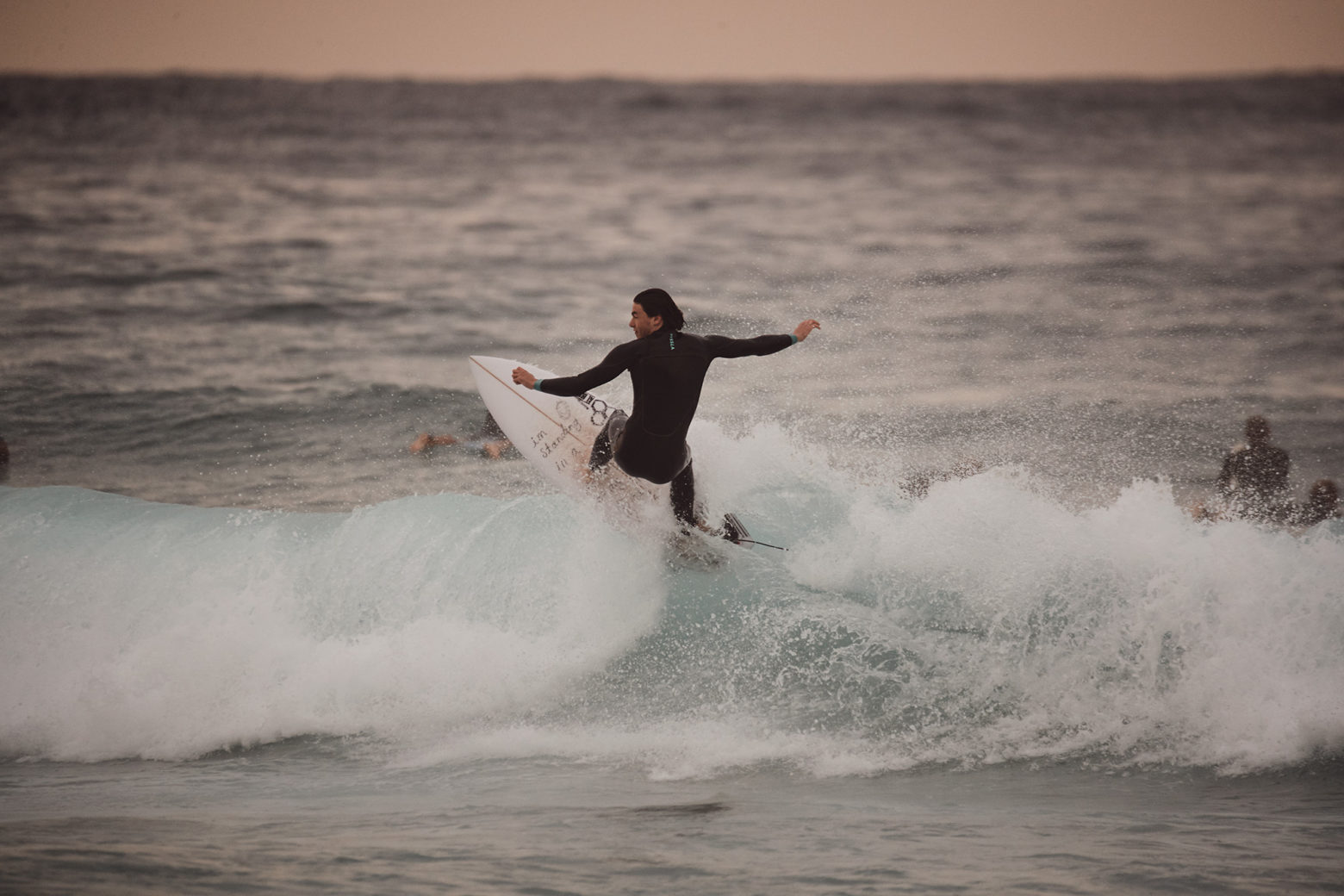 Few waves, nothing special