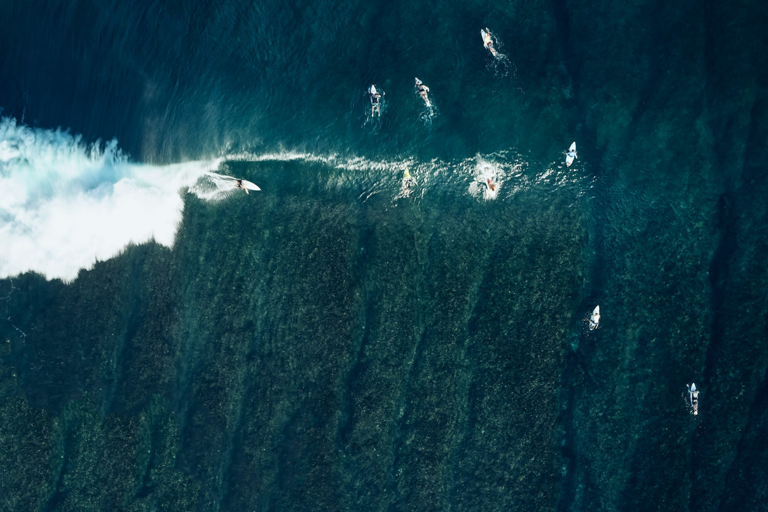 Thunders from above, Mentawais Islands