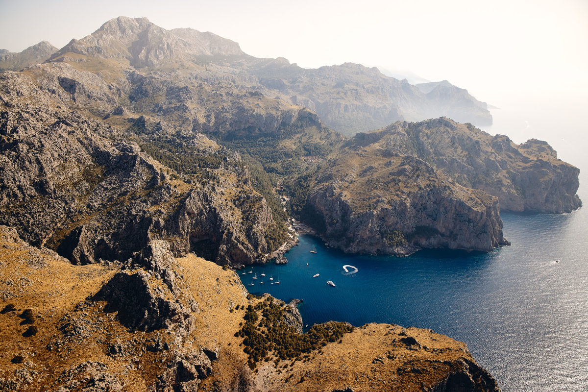 Sa Calobra - Where 1500m mountains rise out of the sea, Mallorca