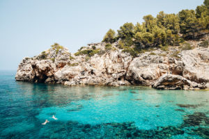Cala Deia, Mallorca, Spain - the swim spot