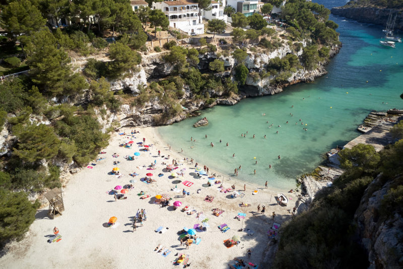 Cala Pi, hidden from the winds