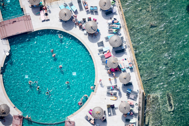 Alua Hawaii pool, Mallorca