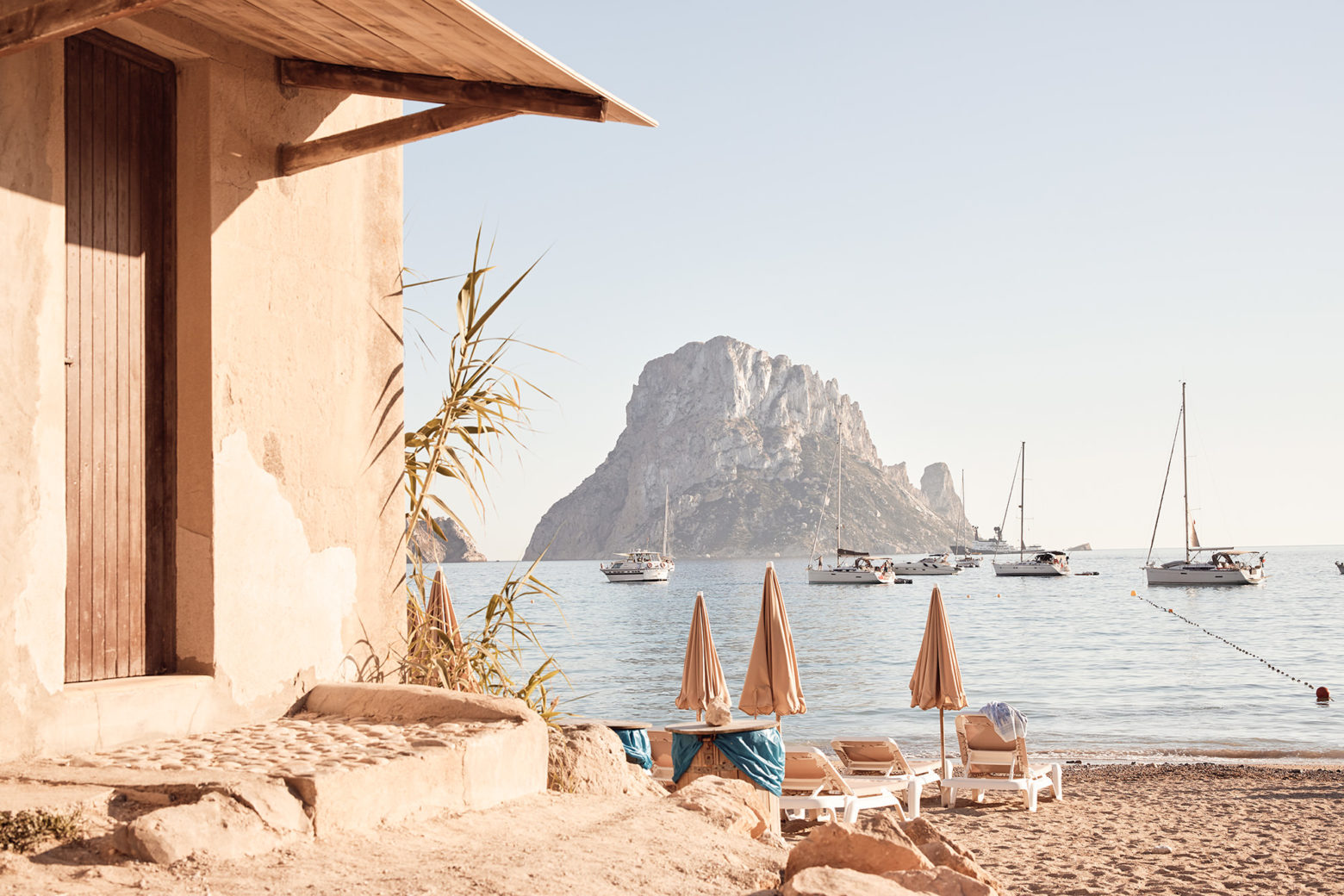 Magical Es Vedra, Ibiza - something very soothing looking at those huge rocks