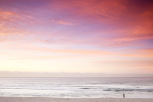 Morning hues, Bondi beach